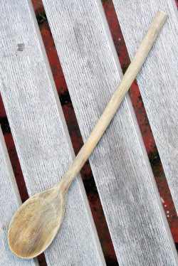 Wooden spoon, sourced from Wikimedia Commons