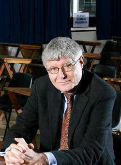 Picture of Chris Woodhead, former chief inspector of UK schools