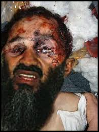 Faked picture of Osama bin Laden dead, the closest we'll ever get to the real thing