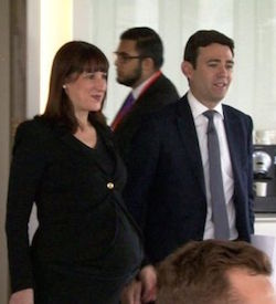 Picture of Rachel Reeves and Andy Burnham