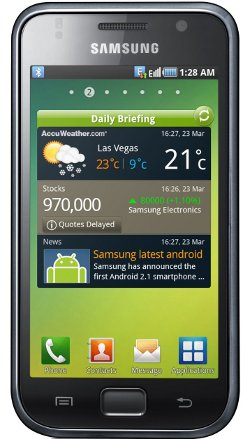 Picture of Samsung Galaxy S phone