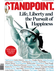 Cover of Standpoint magazine, Jan-Feb 2011 issue