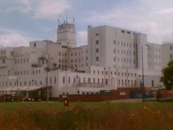 Picture of St Helier Hospital in south London