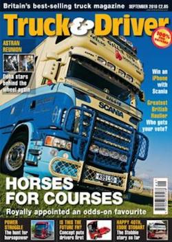 Front cover of Truck & Driver (not the issue referred to in this entry)
