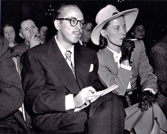 Picture of Dalton Trumbo and his wife Cleo