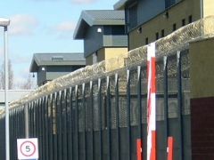 Picture of Yarls Wood immigration detention centre in UK