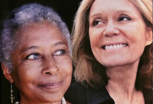 A Ms Magazine cover featuring Alice Walker and Gloria Steinem, from 2009